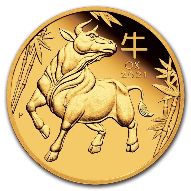 Золотая монета Австралии